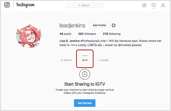 IGTV در اینستاگرام